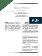 INF. DE LABORATORIO PRACTICA 1