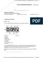Calibration Fan excavator B6H00445