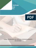 PRODUÇÃO TEXTUAL INTERDISCIPLINAR EM GRUPO – PTG