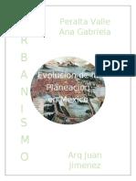 Evolución de la Planeación de México