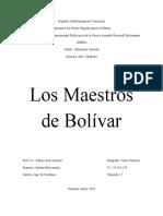 Los Maestros de Bolívar