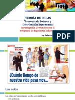 TeorÃ_a de Colas_ Procesos de Poisson y Distribución Exponencial