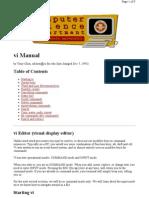 VIM Manual