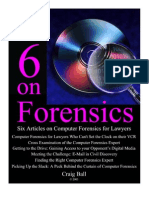 Six Articles on Computer Forensics for Lawyers