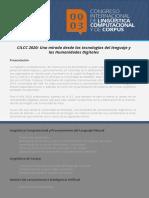 III Congreso Internacional de Lingüística Computacional y de Corpus