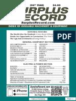 JUNE 2020 Surplus Record Machinery & Equipment Directory