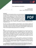 Fernando Iazzetta - Escutas, subjetividades e materialidades