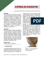Corrosion Interna en Oleoductos - Ing. Gino Pajuelo Navarro