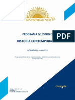 01 - NPGR - Historia Contemporanea 2020