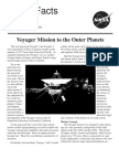 NASA Facts Voyager Mission to Outer Planets NASA Facts