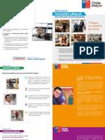 Cartilla Ley de Inclusión Laboral para personas con discapacidad