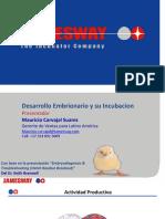 Desarrollo Embrionario y Su Incubacion