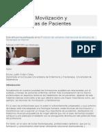 Técnicas de Movilización y Transferencias de Pacientes