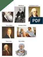 Charles Darwin Alfred Russel                       Juan Bautista Lamarck (2)