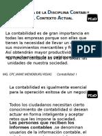 IMPORTANCIA DE LA DISCIPLINA CONTABLE EN EL CONTEXTO CONTA I
