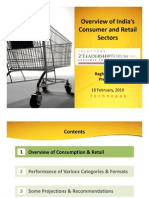 Overview of the Indias Consumer and Retail Sectors