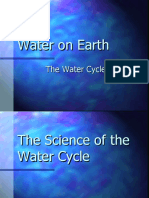 Water cycle and science