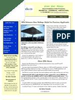 Go Solar Canada Newsletter