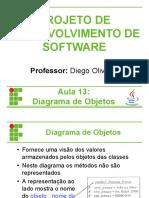 PDS 13 - Diagrama de Objetos