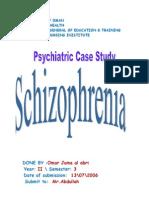 schizophrenia,