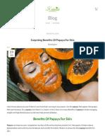 Surprising Benefits Of Papaya For Skin – Kishmish Organic.pdf
