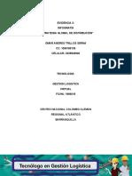 Evidencia Infografía Estrategia global de distribución