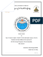 Logistic Industry Analysis, Bhutan.
