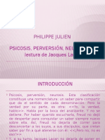 Psicosis, perversión, neurosis - Philippe Julien