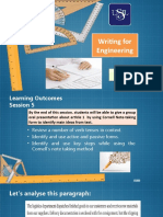 Writing for Engineering