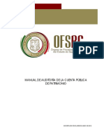 MANUAL DE AUDITORÍA DE LA CUENTA PÚBLICA