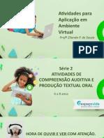 SERIE DE ATIVIDADES VIRTUAIS 2