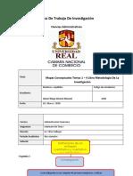 Mapas Conceptuales Temas 1 – 4 Libro Metodología De La Investigación