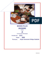 Bisnis Plan DOMIRE