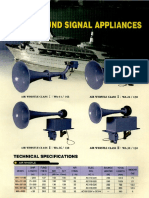 Sound Signal Appliances