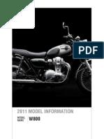 w800 - Model Information