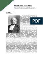HERBERT SPENCER - Vida Y Doctrina