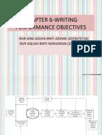 CHAPTER6-WRITINGPERFORMANCEOBJECTIVESs