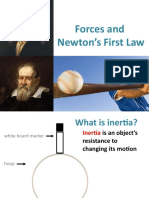 INERTIA NEWTONS FIRST LAW OF MOTION