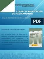 Normas de fabricacion de medicamentos