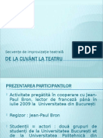 De_la_cuvant_la_teatru