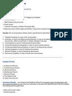 Building Permit Requirements