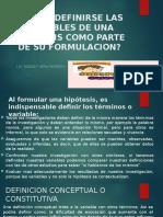 INVESTIGACIÓN HIPÓTESIS Y DEFINICIONES. corregido