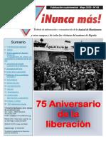 Boletin 63 AMICAL MATHAUSEN 75 Aniversario liberación