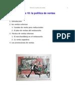 Tema 10 La política de ventas