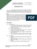 MTD.SOP.18-Masterlog v0