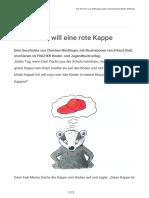 Dani_Dachs_will_eine_rote_Kappe