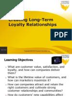 creating long term marketing relationships