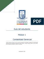 GUIA DEL ESTUDIANTE-Contabilidad Gerencial - Módulo 1