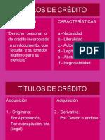 Títulos de Credito 2020