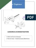 Liaison & schématisation (Schéma Cinématique)
